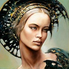 Beautiful Paintings Of Women | diligentcheese: Super Beautiful Paintings Of Women By Karol Bak