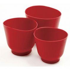 Silicone bowl set, set of 3