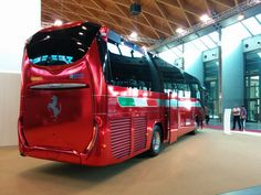 Modena bus @ trade show in Bologna Italy