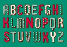 Millies Cookies Christmas Alphabet by R Design