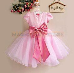 WIZYTOWA SUKIENKA DLA KSIĘŻNICZKI WESELE ŚLUB JASNO RÓŻOWA - sukienki - DLA DZIEWCZYNKI (kliknij aby rozwinąć):