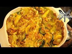 summer squash casserole - Here are 37 Best Top Delicious Summer Squash Casserole Recipes youre always looking for. Squash casserole is the most versatile Southern side dish and is the ultimate comfort food! - March 16 2019 at Vegetarian Recipes Easy, Good Healthy Recipes, Veggie Recipes, Great Recipes, Cooking Recipes, Veggie Meals, Chicken Recipes, Dinner Recipes, Southern Side Dishes