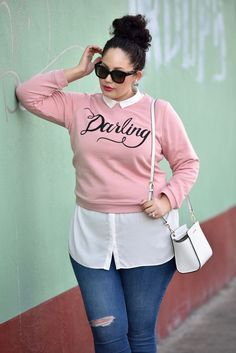 Plus Size Fashion for Women - Plus Size Outfit - Girl with Curves