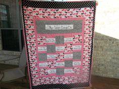 Chemo quilt for Mema