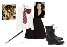 """""""Annabelle Potter"""" by oomfoveryou ❤ liked on Polyvore featuring Uniqlo"""