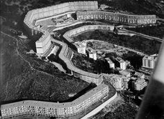 Forte di Quezzi Residential Quarter, Genoa (Luigi Carlo Daneri, 1956-60)