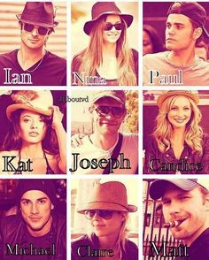 Besides Gossip Girl, The Vampire Diaries has good looking actors and beautiful actresses. The most amazing cast on screen. <3