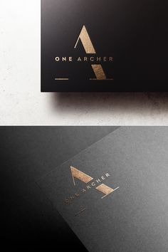 Logo Design for 1 Archer Avenue - a luxury rental residence in Queens New York Company Letterhead, Letterhead Design, Branding Design, Logo Design, Graphic Design, Website Logo, Industry Logo, Luxury Logo, Visual Identity