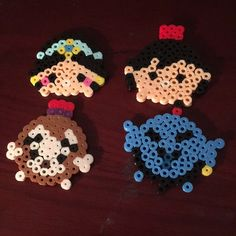 Aladdin tsum tsum bundle Made from perler beads Other
