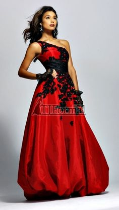 red and black masquerade ball gowns - Google Search