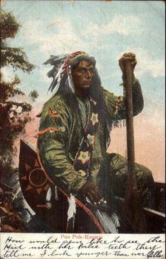 CHIEF PAU PUK KEEWIS American Indian Art, Native American History, Native American Indians, Native Americans, Native Indian, Native Art, Eskimo, Le Far West, Fauna