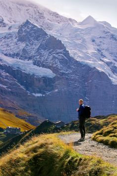 Perhaps the most glorious hike in Switzerland is the ridge walk from Schynige Platte to First, high above Interlaken in the Berner Oberland.