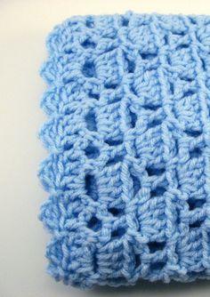 PDF Pattern Crocheted Baby Afghan CAR SEAT by thejewellshandmades