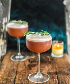 The Ruby Sour is a delicious bourbon cocktail using both winter and spring flavors. This is a great sour to whip up on a cool evening.