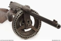 Evelyn Owen's homebuilt .22 submachine gun made from bits of scrap steel and .22 short rifle parts in his younger years. - See more at: http://www.thefirearmblog.com/blog/2014/02/03/evelyn-owens-homebuilt-22-smg/#sthash.c1yngiWY.dpuf: