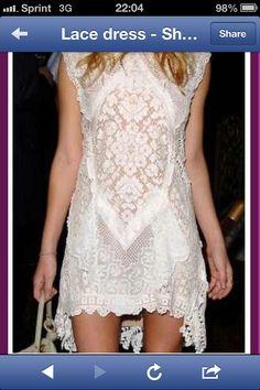 Lace Dress : vintage comeback