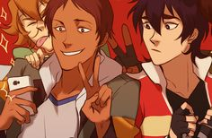 some previews of my stuff for @rollround's voltron... : ace of hearts