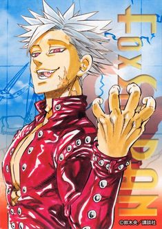 Ban (Nanatsu no Taizai) seven deadly sins Ban Anime, Anime Echii, Anime Guys, Seven Deadly Sins Anime, 7 Deadly Sins, Neue Animes, Ban And Elaine, Weekly Shonen Magazine, 7 Sins