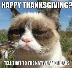 grumpy cat thanksgiving pics | Unhappy thanksgiving | I Heart Grumpy Cat