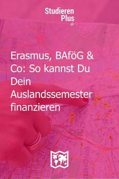 Bis zu 1302 Euro monatliche Förderung für dein Auslandssemester sind möglich. Wie? Erfahre alle wichtigen Infos zu Erasmus, BAföG Ingelheim Am Rhein, St Georg, Study Abroad, Euro, To Study, Scientia Potentia Est, Real Talk
