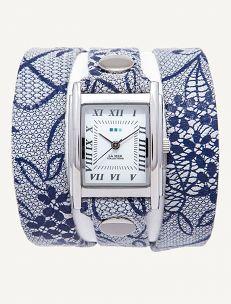 La Mer - Limited Edition Blue Lace Simple Wrap