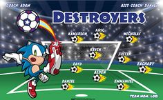 Destroyers digitally printed vinyl Soccer sports team banner. Made in the USA and shipped fast by Banners USA. http://www.bannersusa.com/art/templates_2/digital/banners/VBS_BB_banners.php