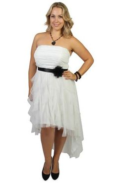 plus size high low ruched mesh short prom dress with tendril skirt
