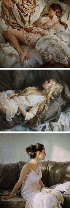 Hyperrealistic oil paintings by Serge Marshennikov // hyperrealistic art