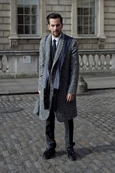 Paris Men's Street Style, Men's Fall winter Fashion.