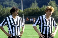 Michel Platini & Zibgniew Boniek