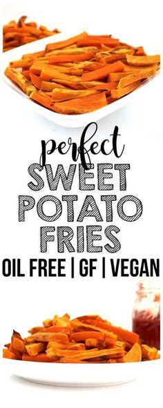 Perfect Sweet Potato Fries! (Oil-Free, Vegan, Gluten-Free, Paleo)