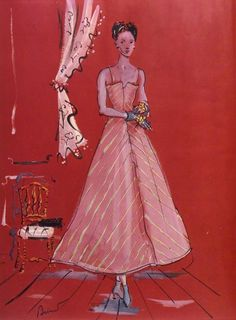 design: elsa schiaparelli illustration: christian berard for vogue (1937)
