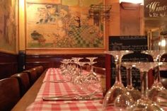Polidor, one of the oldest bistros in Paris  41 rue Monsieur Le Prince 75006
