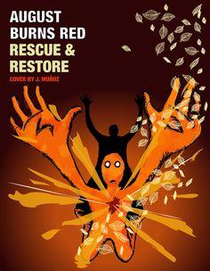 Cover del álbum Rescue and Restore de August Burns Red - John Muñoz