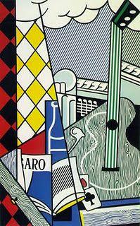 Roy Lichtenstein....see lessons on lines