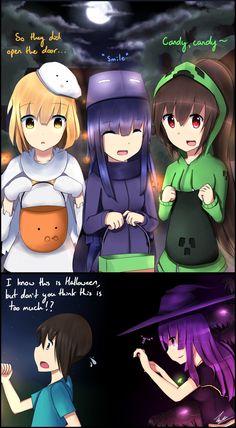 Mobgirls Halloween 2012 by Vikko2 on DeviantArt