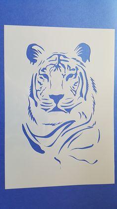 Schablone Tiger Löwen Wandbilder Wandtattoos