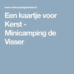 Een kaartje voor Kerst - Minicamping de Visser