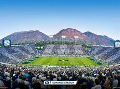"""LaVell Edwards Stadium - BYU football  - MormonFavorites.com  """"I cannot believe how many LDS resources I found... It's about time someone thought of this!""""   - MormonFavorites.com"""