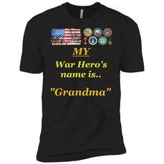 My War Hero All Veterans Premium Short Sleeve T-Shirt Hero, Mens Tops, T Shirt, Women, Pride, Sleeve, Fashion, Supreme T Shirt, Manga