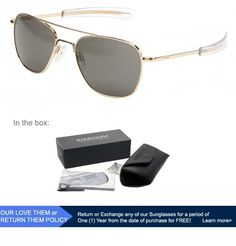 12 Best Military Aviator Sunglasses images  106ebcddbb