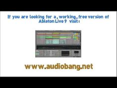 Ableton live 9 free download  [ windows/mac]