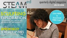 EducationCloset   Arts Integration and STEAM Professional Development – April 2015 STEAMed Magazine Issue Has Sprung!