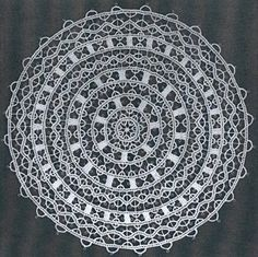 Traditional Croatian lace - fabricated in the island of Pag
