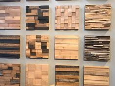Inhabitat's favorite green designs from the 2015 Architectural. Wooden Wall Panels, Decorative Wall Panels, Wooden Wall Decor, Wooden Walls, Stone Wall Design, Wood Design, Scrap Wood Art, Family Room Walls, Wood Cladding