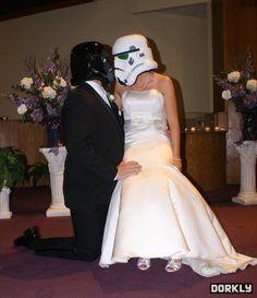 star wars wedding cake | Stormtrooper wedding [pic] | Global Geek News