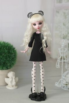 Basic dress for Monster High/EverAfter High and от ElenaShowRoom