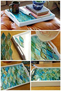 Mosaic Decorative Tray
