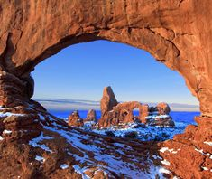 Beautiful Winter Scenes Around the World: Arches National Park