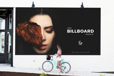 Free Outdoor Girl Watching Billboard Mockup PSD. With front angle view to create a realistic presentation of your outdoor billboard designs. The editable free mockup PSD file allow you to showcase your design via smart-object layer. This elegant billboard mockup is perfect for outdoor fashion brands presentation. Enjoy!